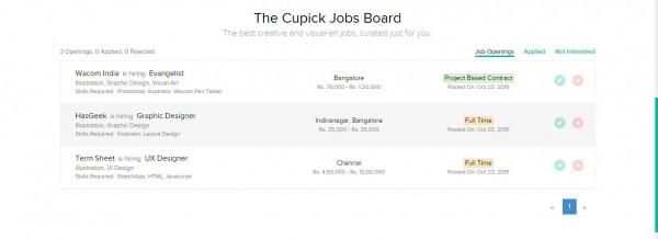 Cupick Jobs Board