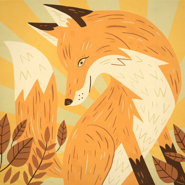 Fox from Illustrator