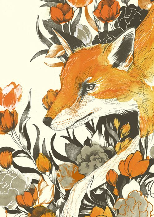 Fox by Teagan White