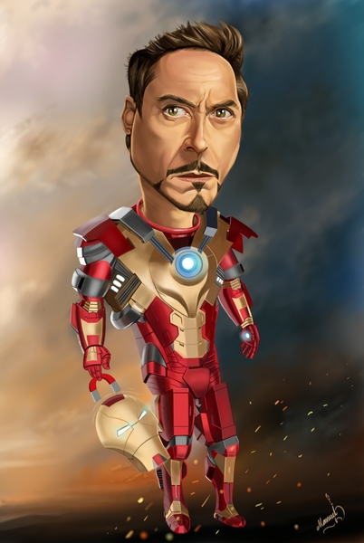 The Big Bad List: 30+ Amazing Ironman Fan Art You Shouldn't