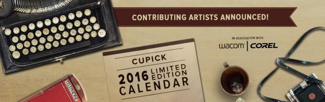 2016 Limited Edition Art Calendar Artist Shortlist