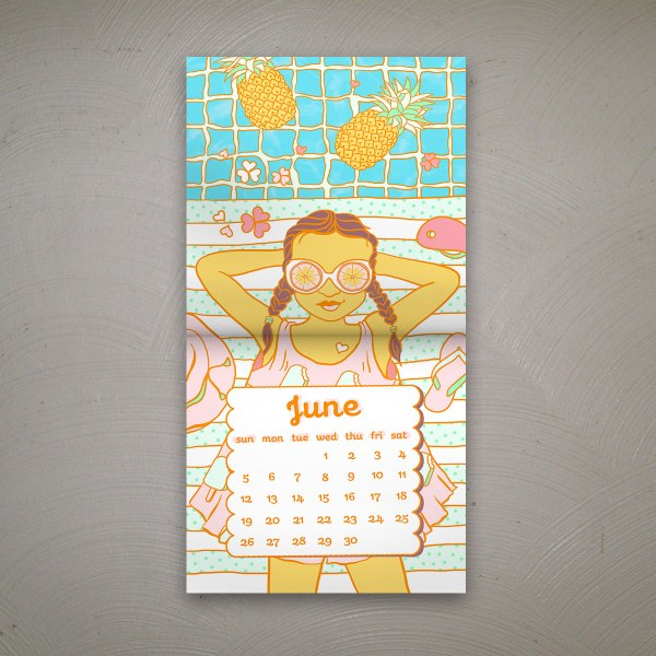 June by Sudeepti Tucker