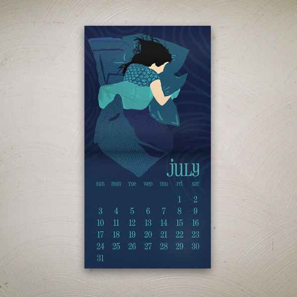 July by Kritika Trehan