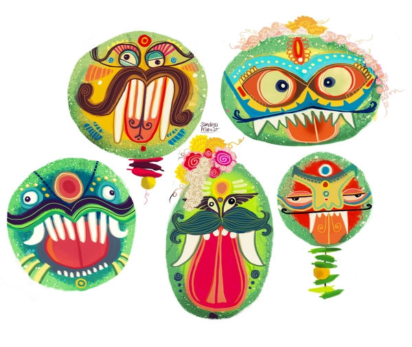Drishti Pumpkins by Sandhya Prabhat